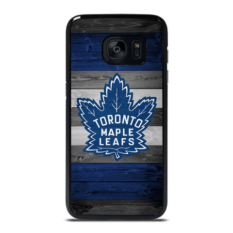 TORONTO MAPLE LEAFS WOODEN LOGO Samsung Galaxy S7 Edge Case Cover
