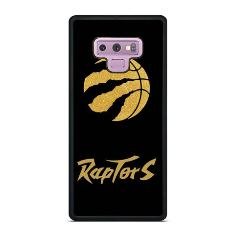 TORONTO RAPTORS GOLDEN LOGO amsung Galaxy Note 9 Case Cover