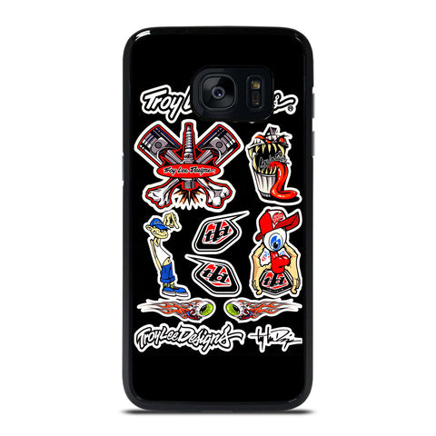 TROY LEE DESIGN COLLAGE Samsung Galaxy S7 Edge Case Cover