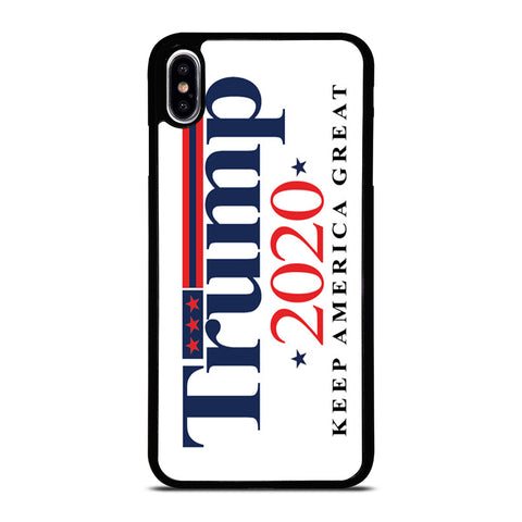 TRUMP 2020 KEEP AMERICA GREAT iPhone XS Max Case Cover