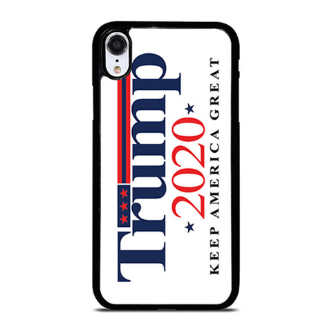 TRUMP 2020 KEEP AMERICA GREAT iPhone XR Case Cover