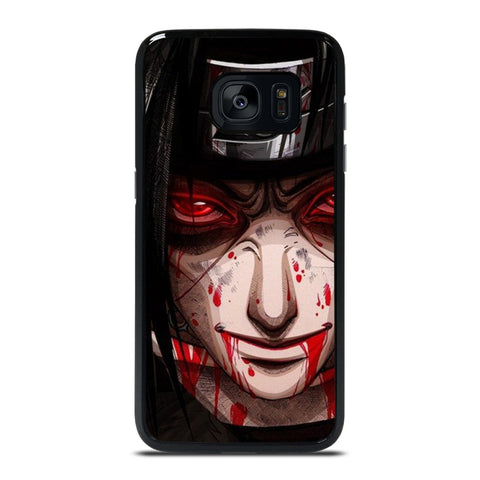 UCHIHA ITACHI NARUTO BLOOD FACE Samsung Galaxy S7 Edge Case Cover