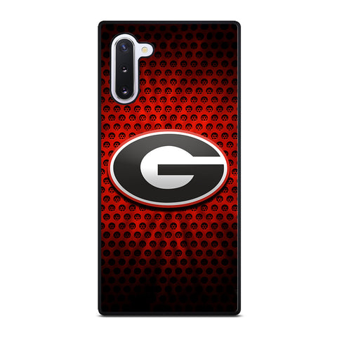 UGA GEORGIA BULLDOGS LOGO  Samsung Galaxy Note 10 Case Cover