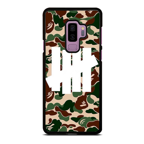 UNDEFEATED BAPE CAMO Samsung Galaxy S9 Plus Case Cover
