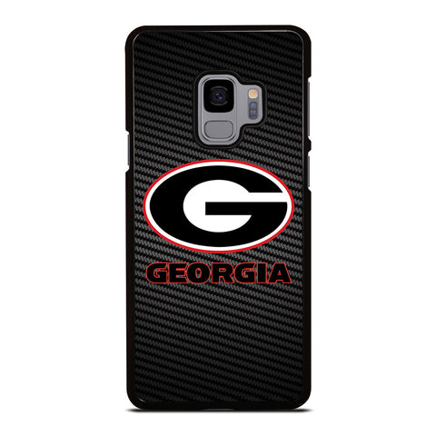 UNIVERSITY GEORGIA CARBON SYMBOL Samsung Galaxy S9 Case Cover