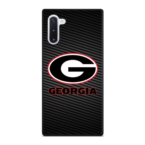 UNIVERSITY GEORGIA CARBON SYMBOL Samsung Galaxy Note 10 Case Cover