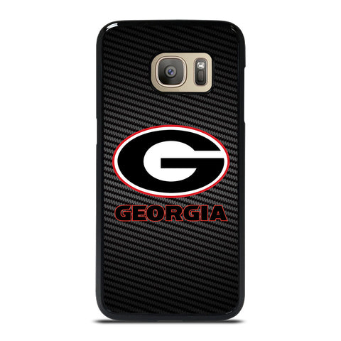UNIVERSITY GEORGIA CARBON SYMBOL Samsung Galaxy S7 Case Cover