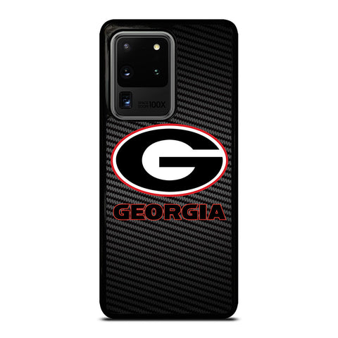 UNIVERSITY GEORGIA CARBON SYMBOL Samsung Galaxy S20 Ultra Case Cover