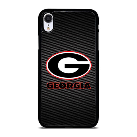 UNIVERSITY GEORGIA CARBON SYMBOL iPhone XR Case Cover