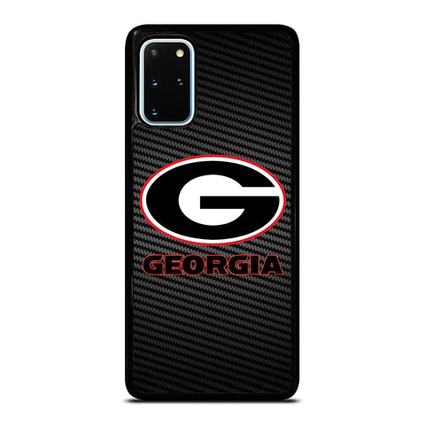 UNIVERSITY GEORGIA CARBON SYMBOL Samsung Galaxy S20 Plus Case Cover