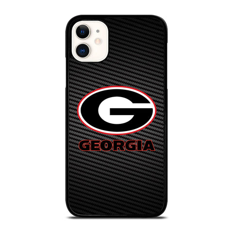 UNIVERSITY GEORGIA CARBON SYMBOL iPhone 11 Case Cover