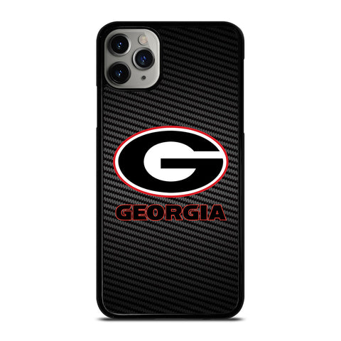 UNIVERSITY GEORGIA CARBON SYMBOL iPhone 11 Pro Max Case Cover
