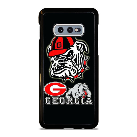 UNIVERSITY OF GEORGIA BULLDOGS ICON Samsung Galaxy S10e Case Cover