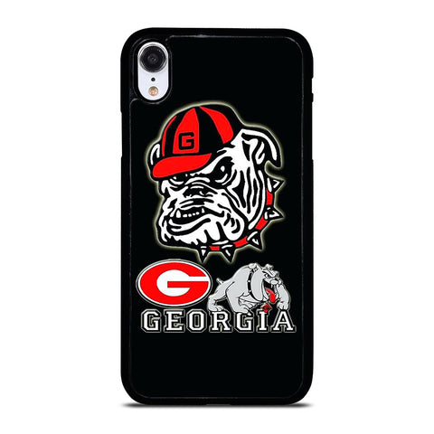 UNIVERSITY OF GEORGIA BULLDOGS ICON iPhone XR Case Cover