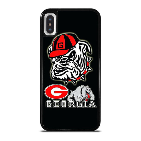 UNIVERSITY OF GEORGIA BULLDOGS ICON iPhone X / XS Case Cover