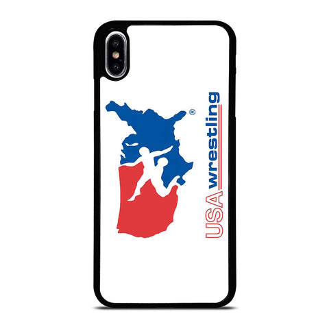 USA WRESTLING LOGO-iphone-xs-max-case-cover