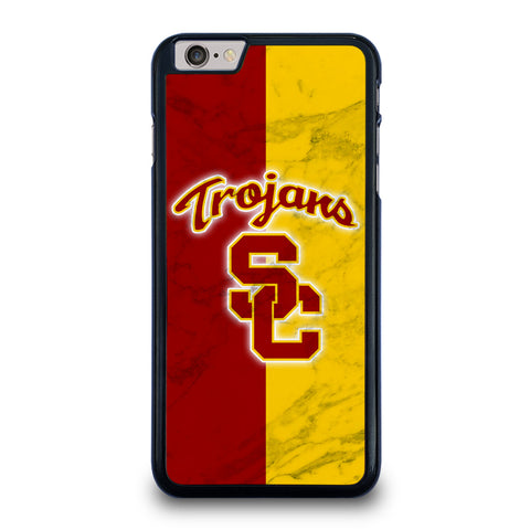USC TROJANS LOGO MARBLE iPhone 6 / 6S Plus Case Cover