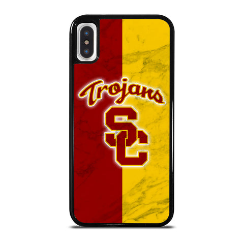 USC TROJANS LOGO MARBLE iPhone X / XS Case Cover