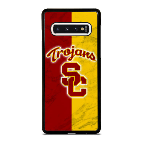 USC TROJANS LOGO MARBLE Samsung Galaxy S10 Case Cover
