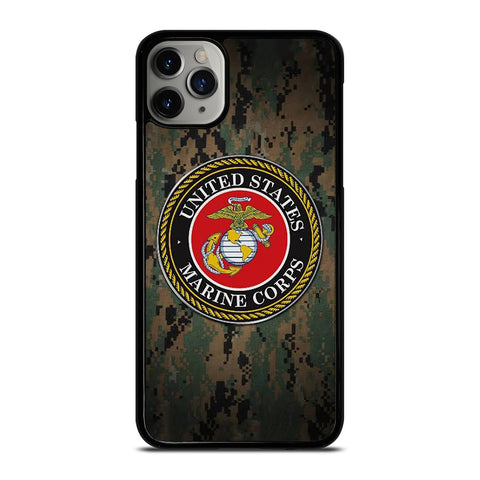 USMC MARINE CAMO iPhone 11 Pro Max Case Cover