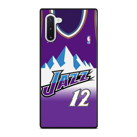 UTAH JAZZ BASKETBALL JERSEY Samsung Galaxy Note 10 Case Cover