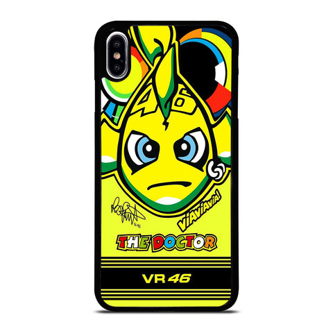 VALENTINO ROSSI 46 MOTOR GP iPhone XS Max Case Cover