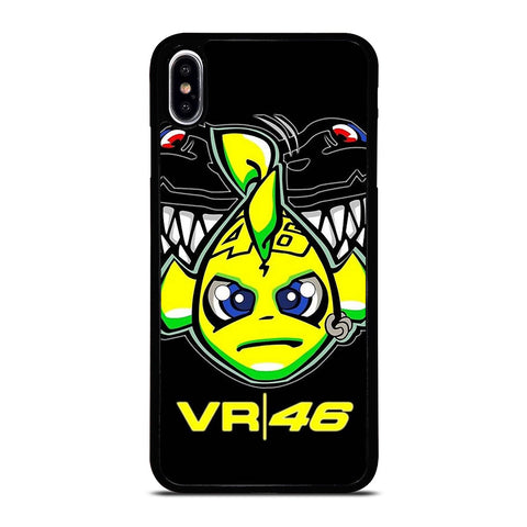 VALENTINO ROSSI 46 LOGO iPhone XS Max Case Cover