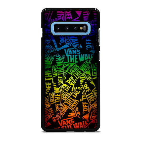 VANS OFF THE WALL COLLAGE Samsung Galaxy S10 Plus Case Cover