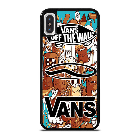 VANS OFF THE WALL logo iPhone X / XS Case Cover