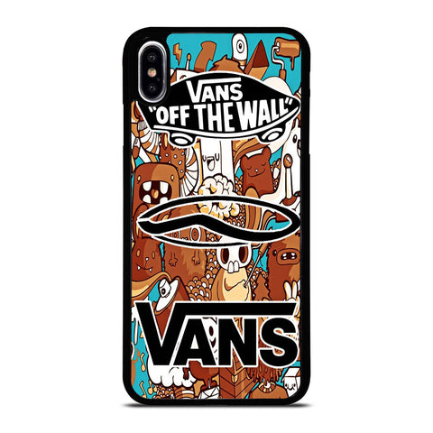 VANS OFF THE WALL logo iPhone XS Max Case Cover
