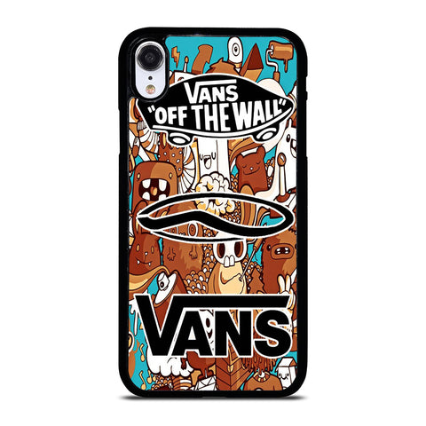 VANS OFF THE WALL logo iPhone XR Case Cover