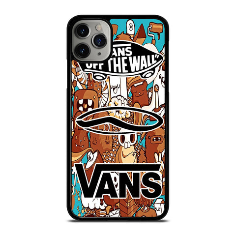 VANS OFF THE WALL logo iPhone 11 Pro Max Case Cover