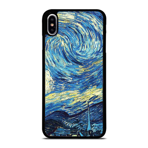 VAN GOGH STARRY NIGHT-iphone-xs-max-case-cover