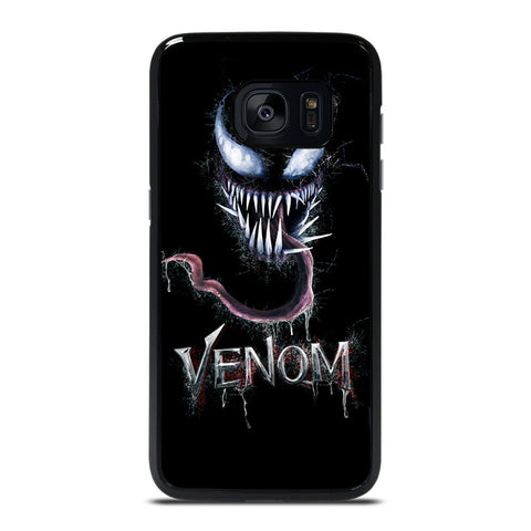 VENOM FACE  MARVEL Samsung Galaxy S7 Edge Case Cover