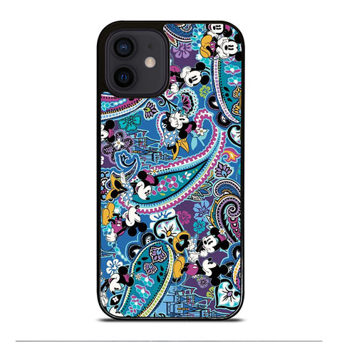 VERA BRADLEY MICKEY MOUSE BLUE iPhone 12 Mini Case Cover