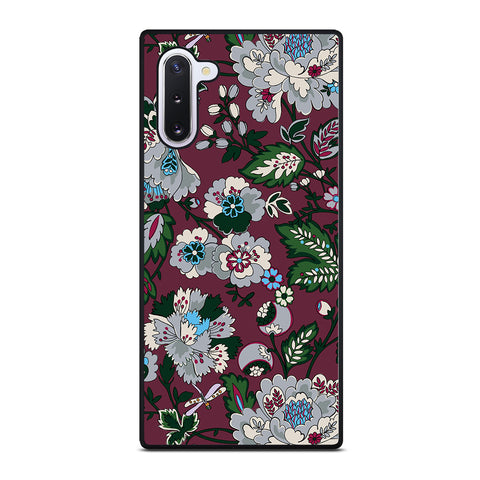 VERA BRADLEY BORDEAUX BLOOMS Samsung Galaxy Note 10 Case Cover