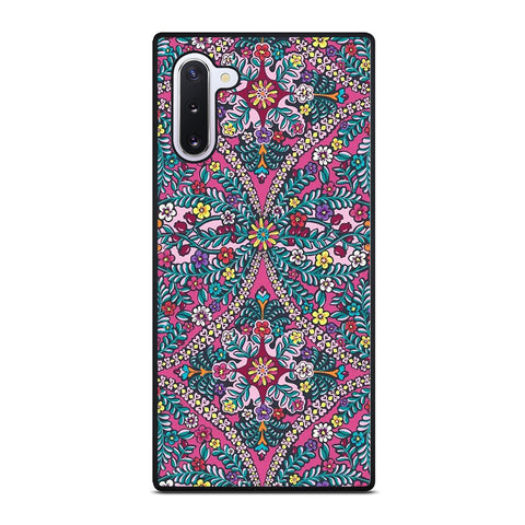 VERA BRADLEY FLOWER PATTERN 2 Samsung Galaxy Note 10 Case Cover