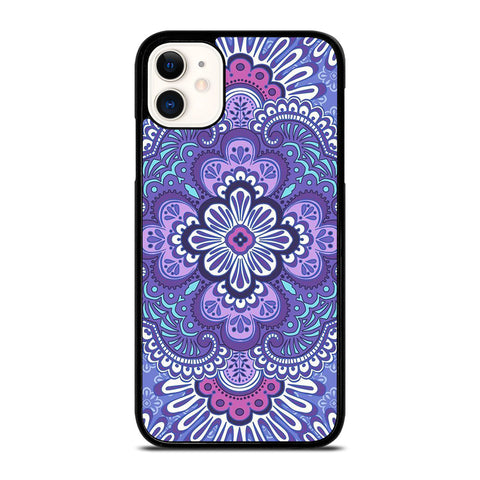VERA BRADLEY LILAC TAPESTRY iPhone 11 Case Cover