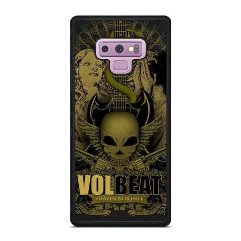 VOLBEAT HEAVEN NOR HELL Samsung Galaxy Note 9 Case Cover