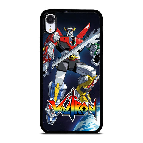 VOLTRON LION FORCE ROBOT iPhone XR Case Cover
