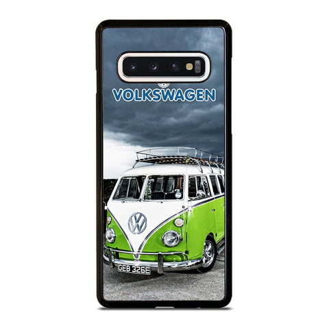 VW VOLKSWAGEN RETRO VAN Samsung Galaxy S10 Case Cover