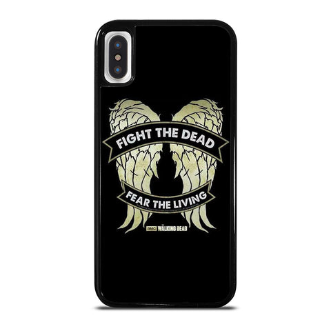 WALKING DEAD DARYL DIXON WINGS iPhone X / XS Case Cover