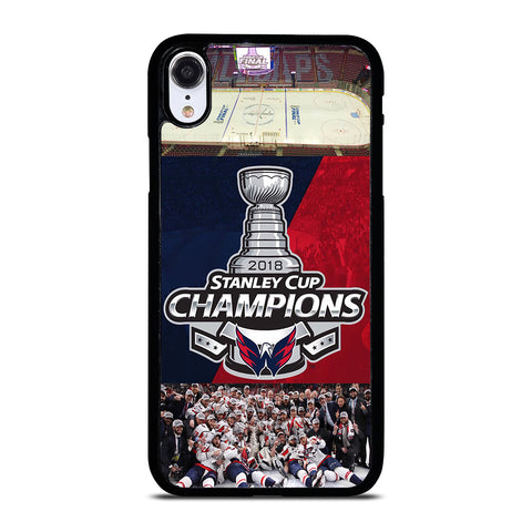 WASHINGTON CAPITALS CHAMPIONS iPhone XR Case Cover