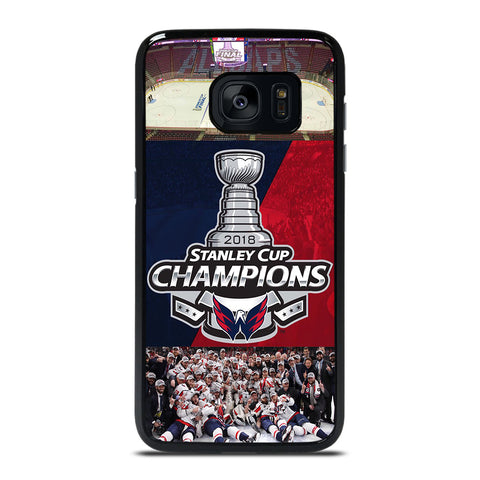 WASHINGTON CAPITALS CHAMPIONS Samsung Galaxy S7 Edge Case Cover