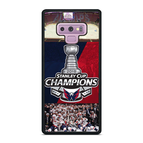 WASHINGTON CAPITALS CHAMPIONS Samsung Galaxy Note 9 Case Cover