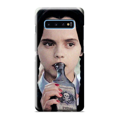 WEDNESDAY ADDAMS DRINKING POISON Samsung Galaxy 3D Case Cover