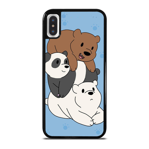 WE BARE BEARS CUTE CARTOON iPhone X / XS Case Cover