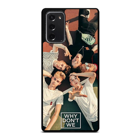 WHY DONT WE GROUP Samsung Galaxy Note 20 Case Cover