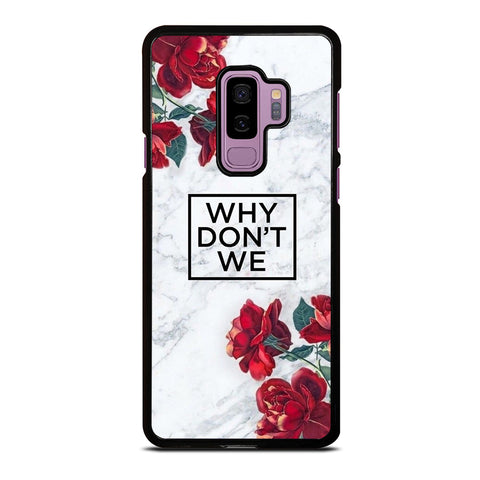 WHY DONT WE ROSE MARBLE Samsung Galaxy S9 Plus Case Cover