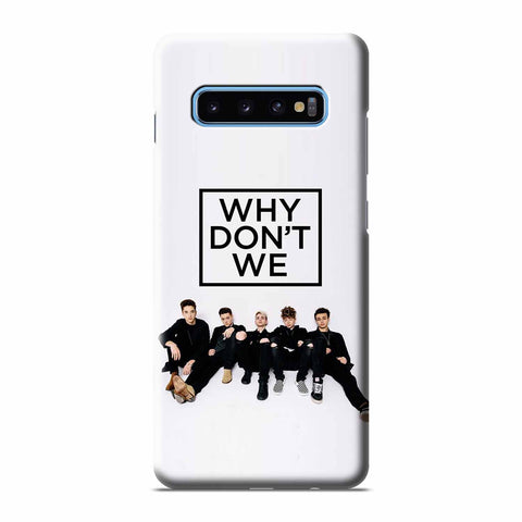 WHY DON'T WE BAND  Samsung Galaxy 3D Case Cover